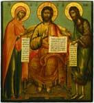 Деисус (Спас на престоле с предстоящими Богоматерью и Иоанном Предтечей)
