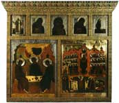Иконостас семейных икон царя Алексея Михайловича