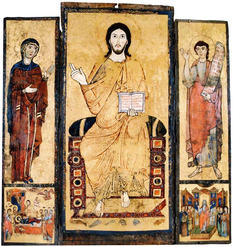 Деисус. Успение. Проповедь Иоанна Крестителя