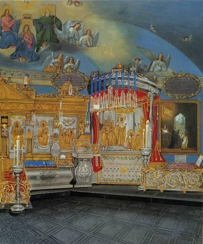 Серапионская палатка или келия преподобного Сергия