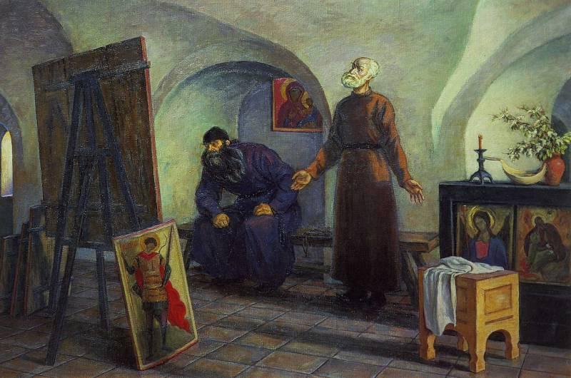 Даниил Черный и Андрей Рублев — мастера русской живописи
