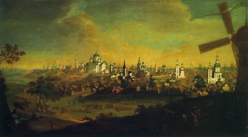 Вид города Арзамаса