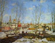 Весна в Троицкой лавре