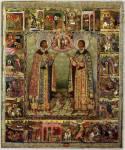 Святые благоверные князья Борис и Глеб, с житием