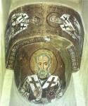 Святители Николай Чудотворец, Елевферий и Аверкий