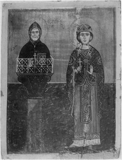 Святые Симеон Столпник и Варвара