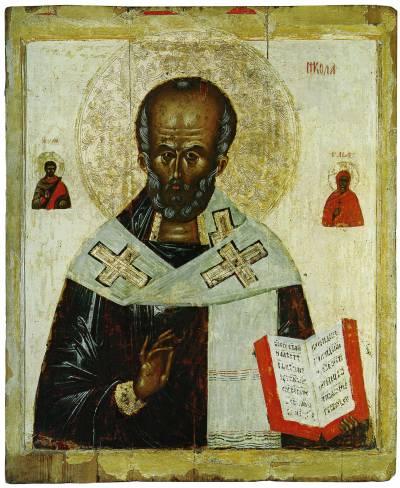Святитель Николай Чудотворец, с избранными святыми