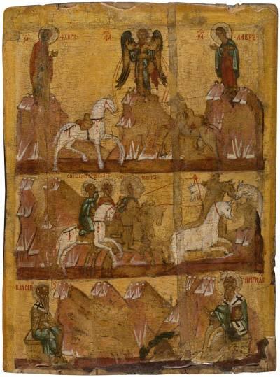 Чудо о Флоре и Лавре. Святители Власий Севастийский и Спиридон Тримифунтский