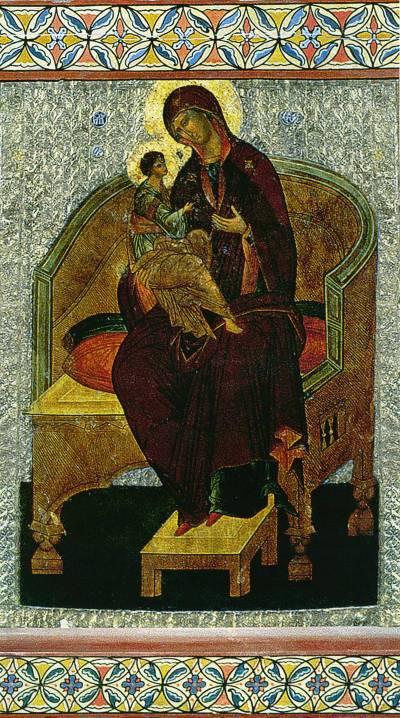 Богоматерь с Младенцем на престоле