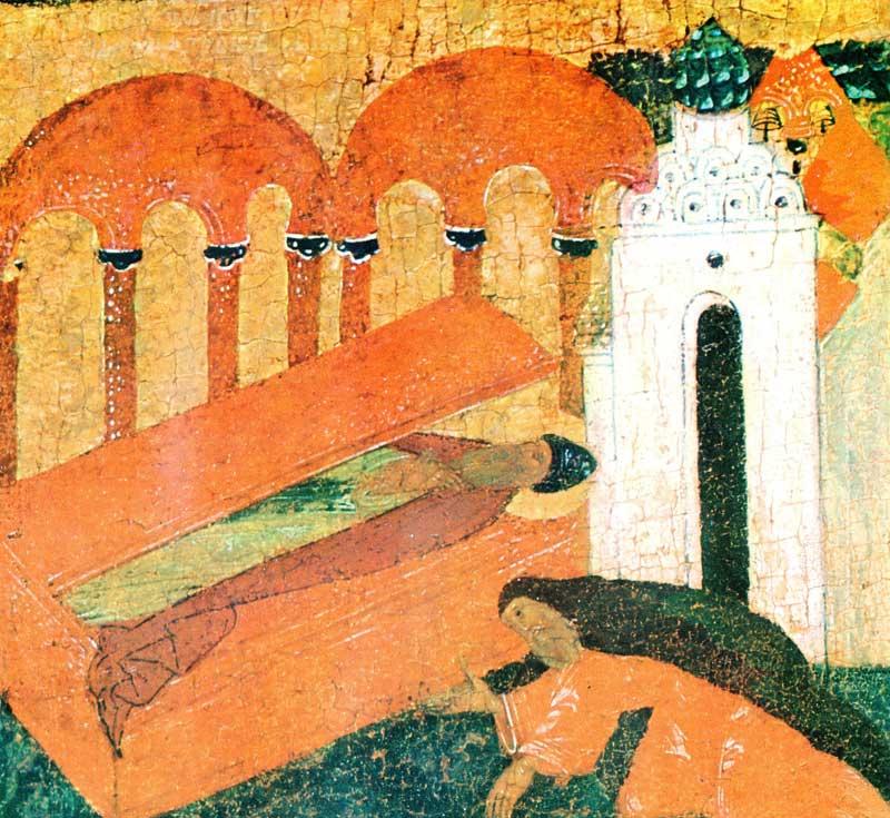 Явление прп. Зосимы в гробнице старцу Тарасию