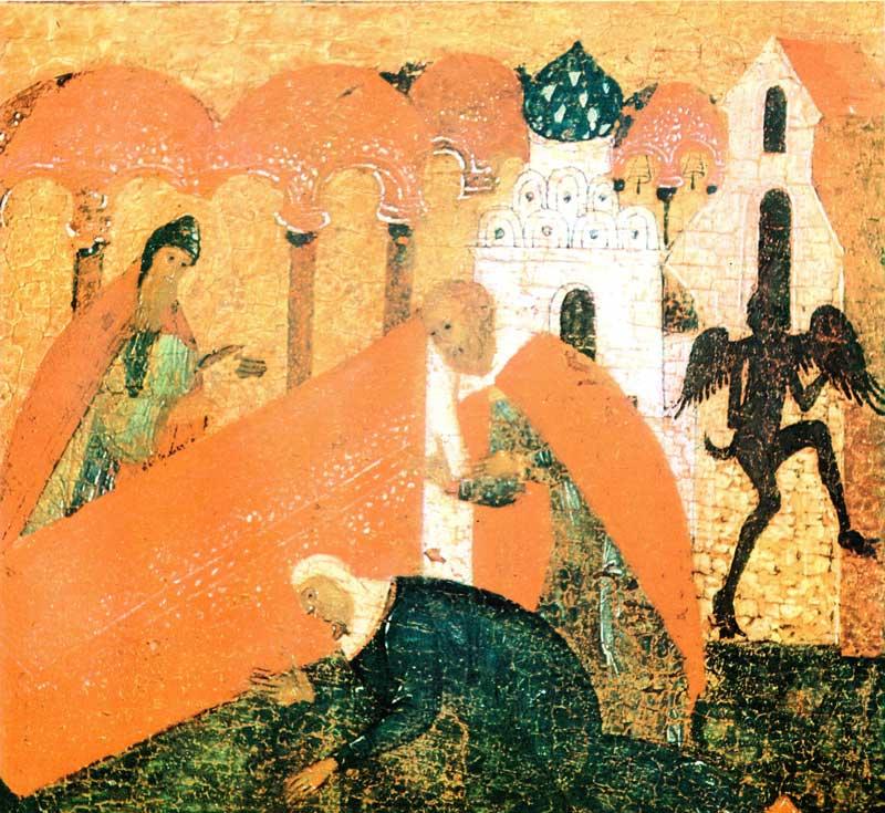 «Чудо свв. Зосимы и Савватия об Анисимовой жене»