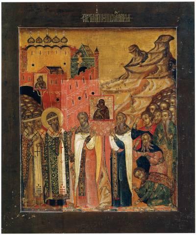Сретение Владимирской иконы Богоматери