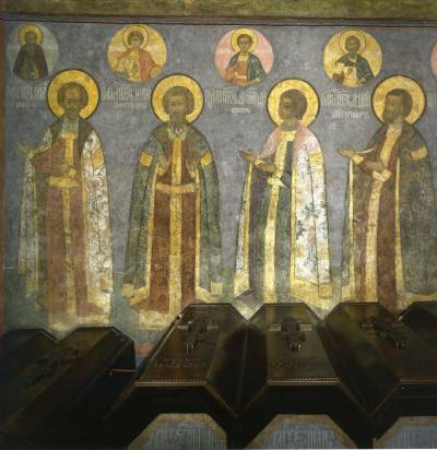 Надгробные княжеские «портреты»