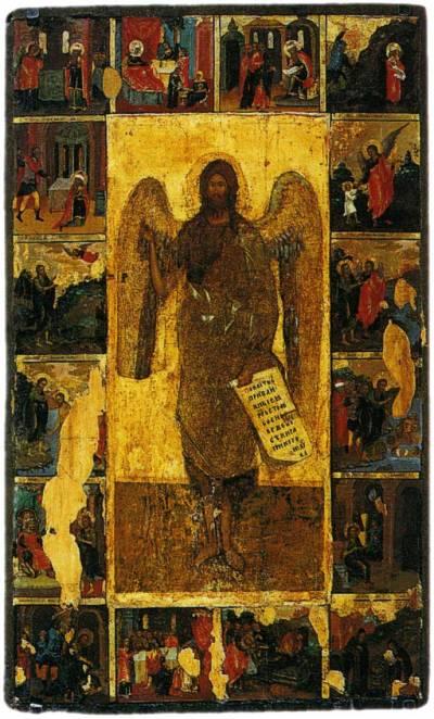 Иоанн Предтеча — Ангел пустыни, с житием