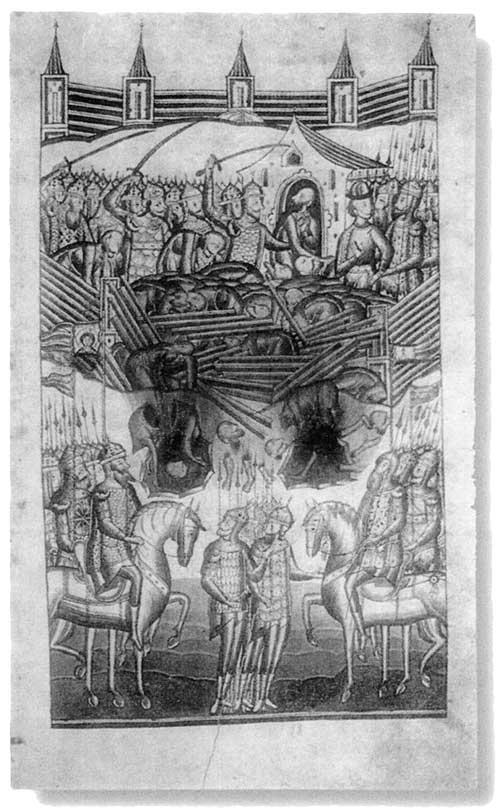 Пленение хана Егидера в Казани