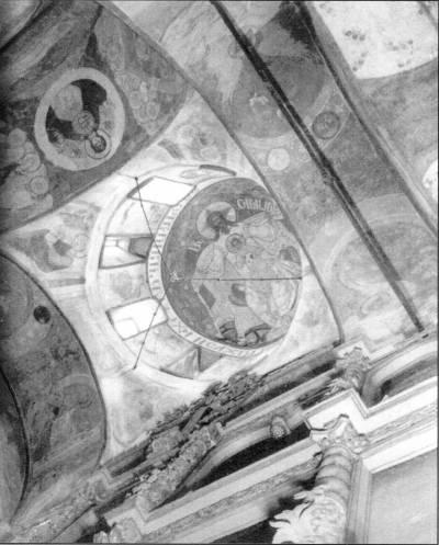 Фрески купола собора в Свияжске