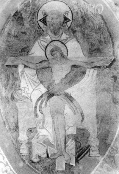 Христос, распятый в лоне Отчем