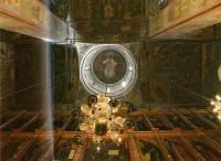 Вид на центральный купол Архангельского собора