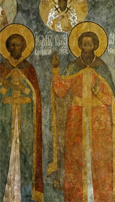 Великие князья московские ИванIII и ВасилийII
