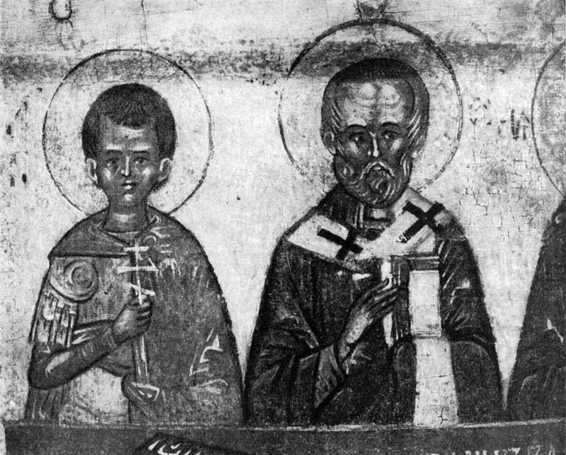 Димитрий Солунский и Николай Чудотворец