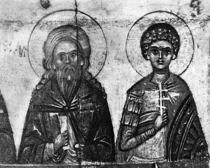 Илия Пророк и Георгий