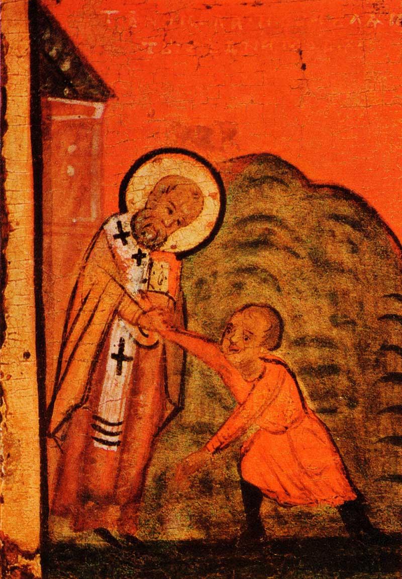 Спасение Димитрия со дна моря