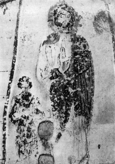 Христос и ктитор