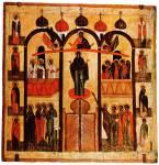 Покров, с избранными святыми