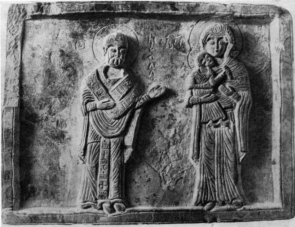 Богоматерь с Младенцем и св. Николай