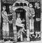 [Илл. с. 313] Кат. № 13. Клеймо. Спасение Димитрия