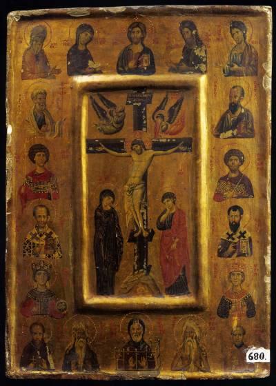 Распятие с Деисусом и святыми