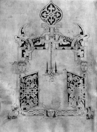Изображение царских врат - Псалтирь [F.п.I.2], л. 169 об.