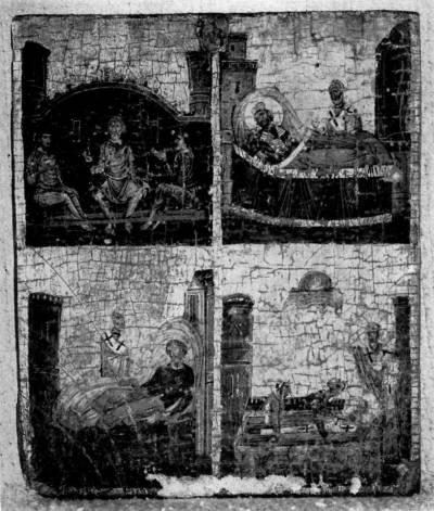 Сцены из жития святителя Николая Чудотворца