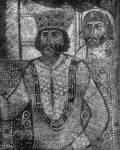Диоклетиан, допрашивающий святого Георгия