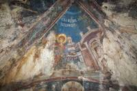 Заточение святого Георгия в темницу