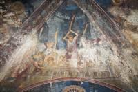 Избиение святого Георгия батогами