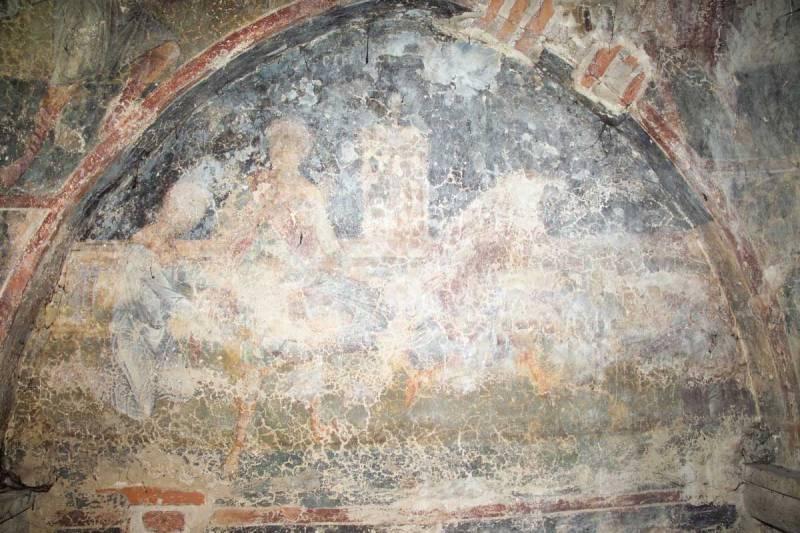Мучение святого Георгия раскаленными железными сапогами
