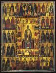 Святитель Николай Чудотворец, с житием, Деисусом и избранными святыми