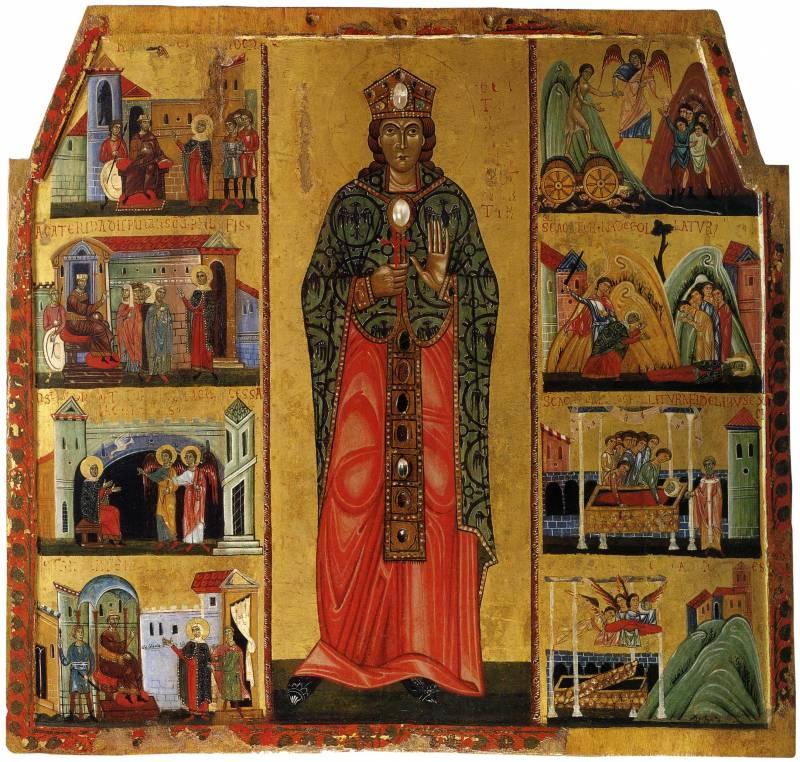 Святая Екатерина, с житием