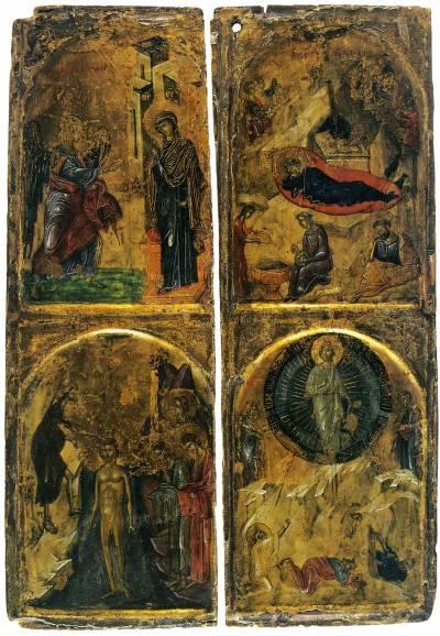 Благовещение. Рождество Христово. Крещение. Преображение