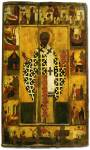 Святой Николай Чудотворец, с житием в 18 клеймах