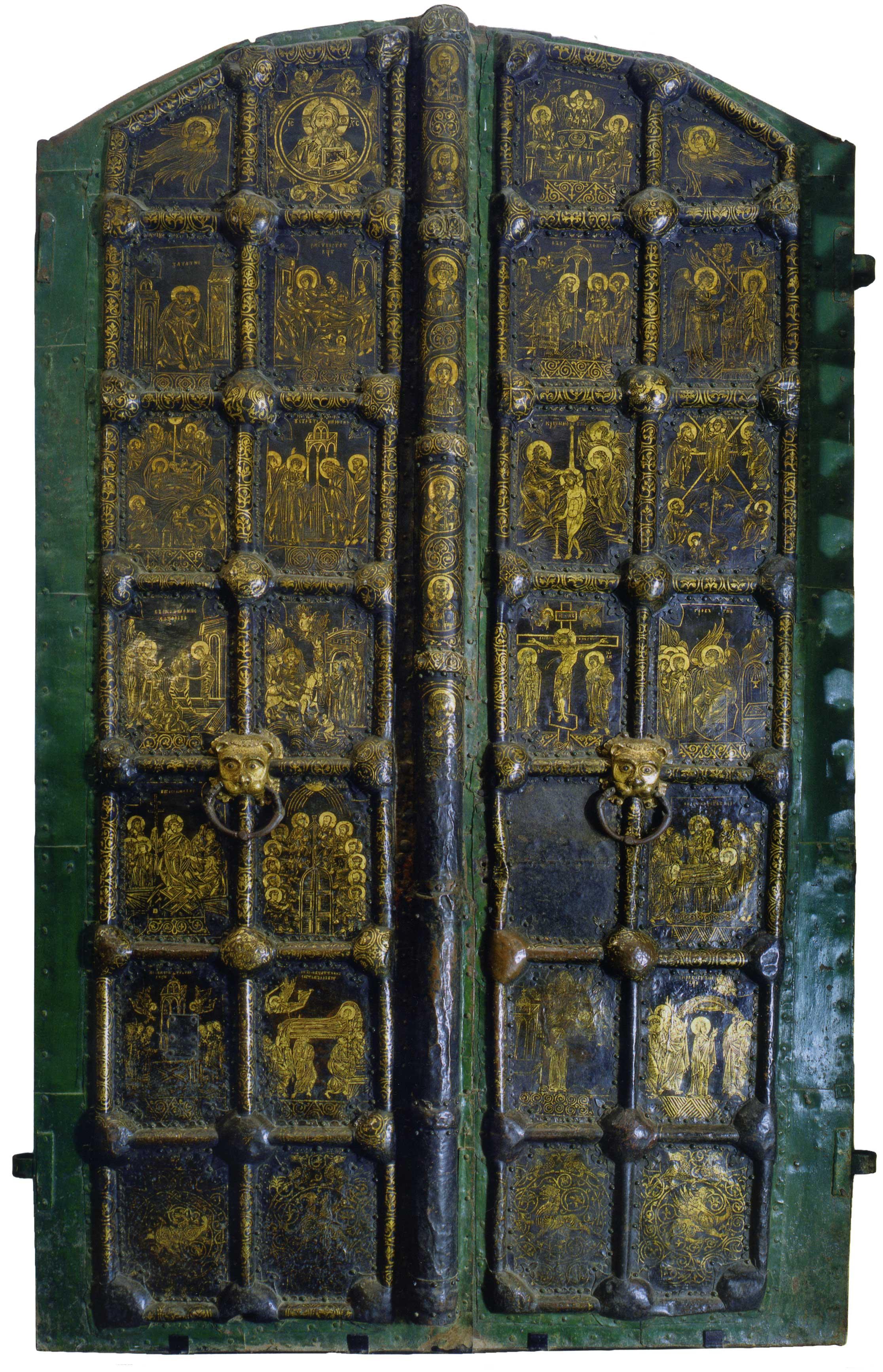 Западные «златые врата» Суздальского собора