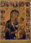 Богоматерь Одигитрия, с праздниками на полях
