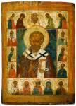 Святитель Николай Чудотворец, с Деисусом и избранными святыми