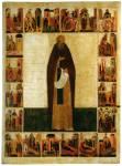 Преподобный Сергий Радонежский, с житием