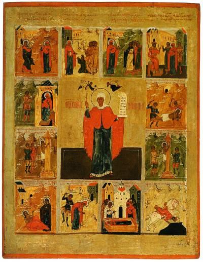 Святая великомученица Параскева Пятница, с житием