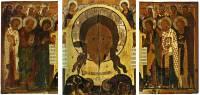 Спас Нерукотворный с предстоящими святыми