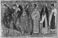 Иоанн Предтеча, архангел Гавриил, апостол Павел, Иоанн Златоуст, преподобный Варлаам, Георгий