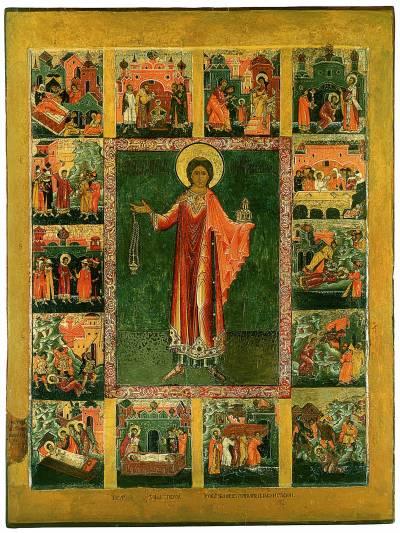 Первомученик архидиакон Стефан, с житием