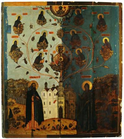 Похвала Пресвятой Богородицы печерских чудотворцев